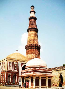 Delhi-qutab minar