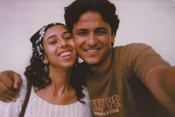 Rachit & Urmi at 19. It was our first selfie ever.